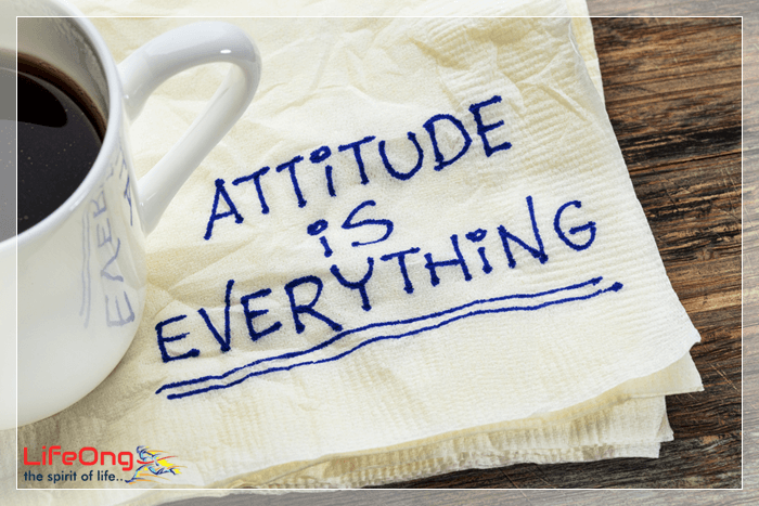 have the positive attitude